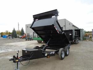 2017 6X10 DUMP TRAILER - BUILT TO LAST - BEST BANG FOR YOUR BUCK London Ontario image 6