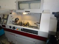 HARRISON ALPHA 330S PLUS SEMI CNC TEACH LATHE YEAR 2000