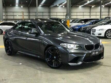 2016 BMW M2 F87 D-CT Mineral Grey 7 Speed Sports Automatic Dual Clutch Coupe