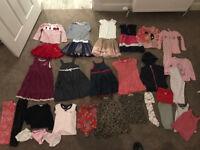 Girls Christmas bundle (32 items) 2-3 yrs Ralph Lauren, Gap, JoJo Maman, Next