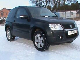 SUZUKI GRAND VITARA 1.6 SZ4 4X4 3 DR,BLACK,1 YRS MOT,CORRECT REG NO SY60AZG-CHERISHED NO TO COME OFF