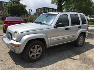 2003 Jeep Liberty Limited AS IS Special
