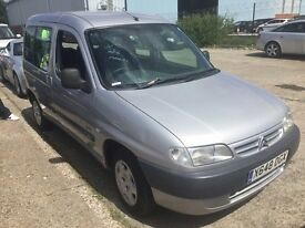 CITROEN BERLINGO 1.9 D DIESEL MANUAL MULTISPACE FORTE MPV 5 SEATER SPACIOUS MOT VAN TOWBAR NO ESTATE