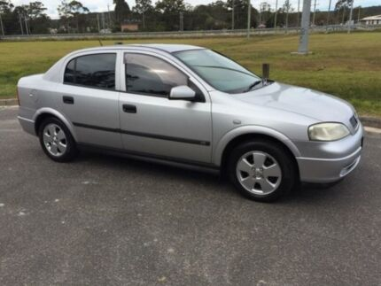 2001 Holden Astra TS CD Silver 4 Speed Automatic Sedan West Gosford Gosford Area Preview
