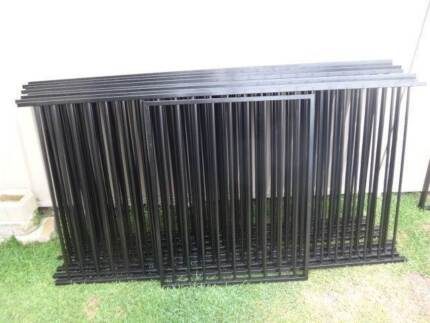 Pool Fencing & Gate 20 meters - 19mm Pickets   - Black Flat Top Albany Creek Brisbane North East Preview