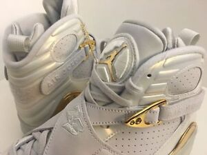 "Sz 8, 9 Air Jordan 8 Retro Men's Championship Pack ""Champagne"""