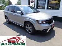 2015 Dodge Journey Crossroad FWD only $217 bi-weekly!