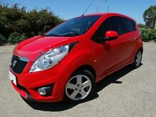 2011 Holden Barina Spark MJ Update CDX Red 5 Speed Manual Hatchback Vincent Townsville City Preview