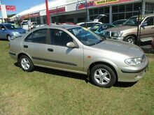 2002 Nissan Pulsar N16 LX Plus Gold 5 Speed Manual Sedan Kippa-ring Redcliffe Area Preview