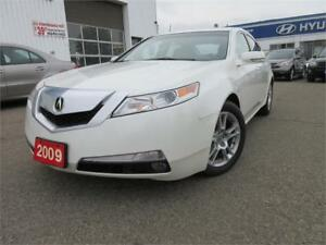 2009 Acura TL Tech Pkg-1 OWNER,NAVI,R CAM,LEATHER,WARANTY,$10795
