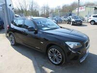BMW X1 SDRIVE20D SE 5d 174 BHP full service history (black) 2010
