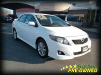 2010 Toyota Corolla S AUTOMATIC LOW KMS!
