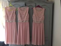 3 Bridesmaid dresses- wedding-New with tags-unworn