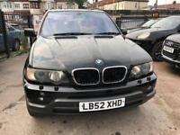 2003 BMW X5, AUTOMATIC, FULL LEATHER SEATS, SUNROOF, LOW MILEAGE FOR ITS AGE,