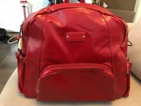 Minene Ella Changing Bag Red