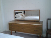 Dressing table with mirror, good condition.