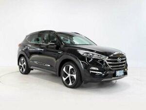 2015 Hyundai Tucson TLE Highlander R-Series (AWD) Phantom Black 6 Speed Automatic Wagon Cooee Burnie Area Preview