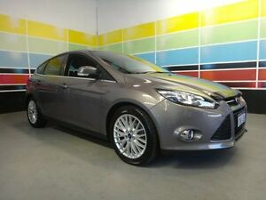 2012 Ford Focus LW Sport Lunar Sky 6 Speed Automatic Hatchback Wangara Wanneroo Area Preview