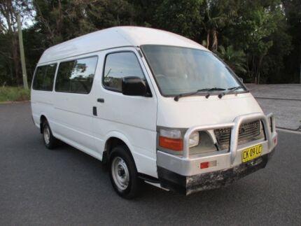 2004 Toyota Hiace Commuter Bus 14 Seat Van, 8 Months Rego, Towbar