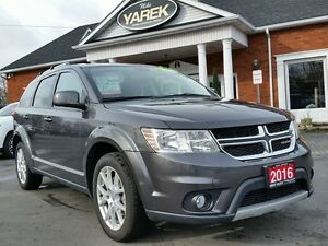 2016 Dodge Journey Limited, Heated Seats, Remote Start, DVD, Blu