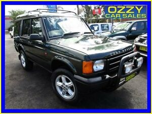 2001 Land Rover Discovery V8 (4x4) Green 4 Speed Automatic 4x4 Wagon Minto Campbelltown Area Preview