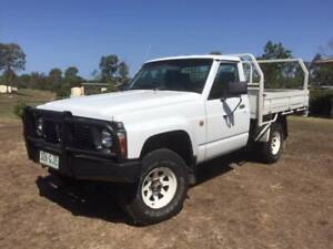 Nissan Patrol Ute with Tip Body