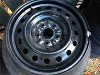 Set of four 16 inch steel rims for Toyota Camry or Sienna. Kitchener / Waterloo Kitchener Area Preview