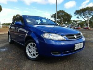 2008 Holden Viva JF MY09 Blue 4 Speed Automatic Hatchback Gepps Cross Port Adelaide Area Preview