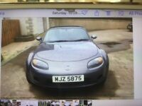 Mazda, MX-5, Convertible, 2007, Manual, 1798 (cc), 2 doors
