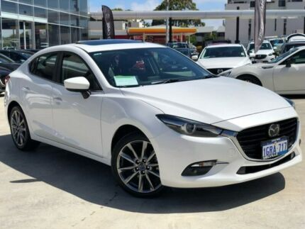 2018 Mazda 3 BN5236 SP25 SKYACTIV-MT Astina White 6 Speed Manual Sedan Palmyra Melville Area Preview