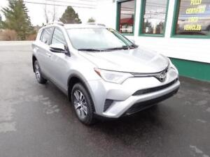 2018 Toyota RAV4 LE AWD for only $233 bi-weekly all in!