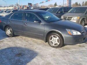 2007 Honda Accord Hybrid Base 4dr Sedan