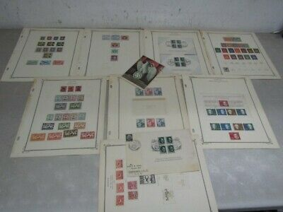 Nystamps Germany Air Mail WW II Reich much mint old stamp collection Scott page