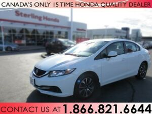 2013 Honda Civic EX | 1 OWNER | ALL WEATHER MATS