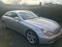MERCEDES BENZ CLS 320 CDI 2006 ***FULLY LOADED TWIN PIPES***