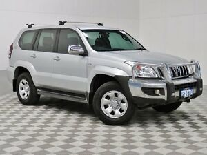 2007 Toyota Landcruiser Prado KDJ120R MY07 GX (4x4) Silver 5 Speed Automatic Wagon Jandakot Cockburn Area Preview