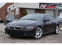 2004 BMW 6 Series 645Ci Coupe Navigation Leather Panoramic Roof