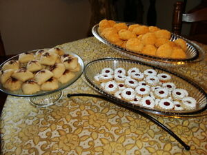 gateaux pour vos mariages/homemade cookies for your weddings West Island Greater Montréal image 7