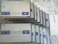TDK FE C90 CASSETTE TAPES / USED, JUST 80p EACH, FROM CASSETTEQUE