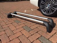 BMW F10 Genuine Roof Bars - used - part no 82 71 2 150 092