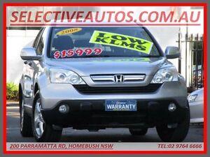 2008 Honda CR-V MY07 (4x4) Sport Silver 5 Speed Automatic Wagon Homebush Strathfield Area Preview