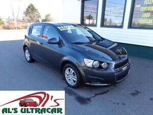 2016 Chevrolet Sonic LT HB only $113 b-weekly all in!