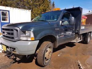 2004 F450 4x4 Diesel Dump Truck