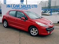 PEUGEOT 207 1.4 SPORT 5d 94 BHP A LOW PRICE 5DR FAMILY HATCHBA (red) 2008