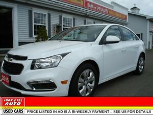 2015 Chevrolet Cruze LT $15995 financed price - 0 down payment*