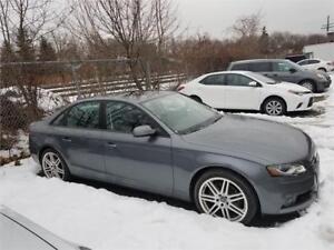 2012 Audi A4 2,0T Quattro*95000Km*Auto*Toit ouvrant*Cuir*$65/Sem