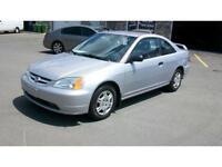 2001 Honda Civic LX AUBAINE!!! 1950.00$