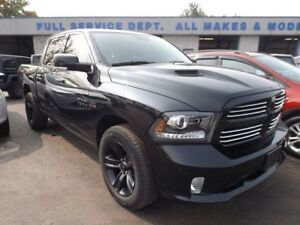 2016 Ram 1500 Sport 4X4 LEATHER NAVI SUNROOF