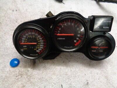 <em>YAMAHA</em> FZ750 FZ 750 SPEEDO SPEEDOMETER CLOCK SET DASH ASSY