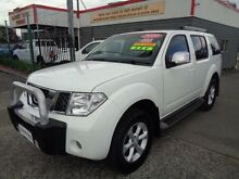2010 Nissan Pathfinder R51 MY07 ST-L (4x4) White 6 Speed Manual Wagon Sandgate Newcastle Area Preview